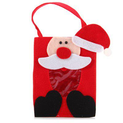 Christmas Candy Bag Santa Claus Design for Christmas