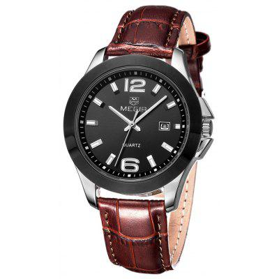 MEGIR 5006G Date Display Male Quartz Watch