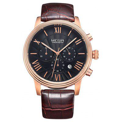 MEGIR 2304 30M Water Resistance Men Quartz Watch