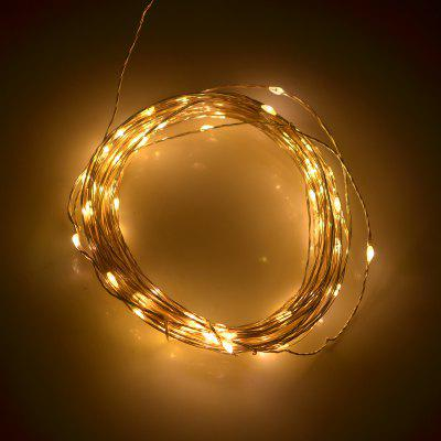 5 Meters 50 LED Christmas USB Copper String Light