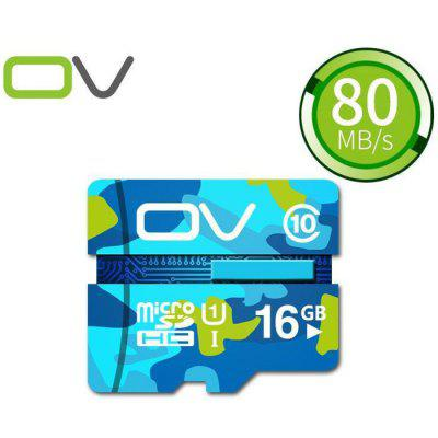 OV 16GB Micro SDHC Memory Card Camouflage Version