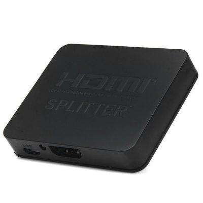 HDSP2-M 4K 1 x 2 HDMI Splitter Support 3D 1080P for HDTV