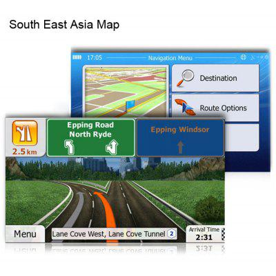 8GB Micro SD Card with GPS Map for WinCE Car System SOUTHEAST ASIA