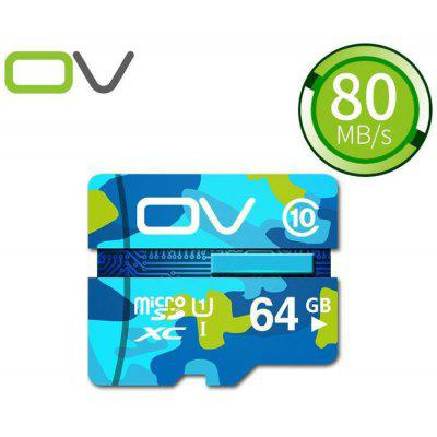 OV 64GB Micro SDXC Memory Card Camouflage Version
