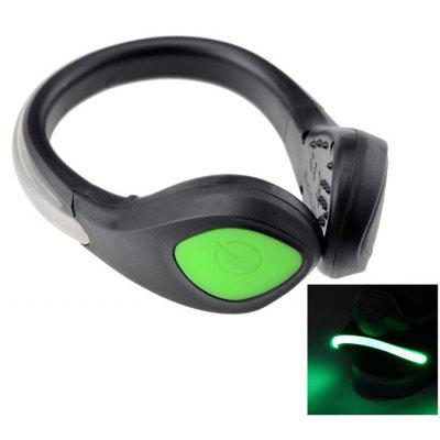 Bicycle Sports Shoes Wrist Safety Signal LED Light Clip