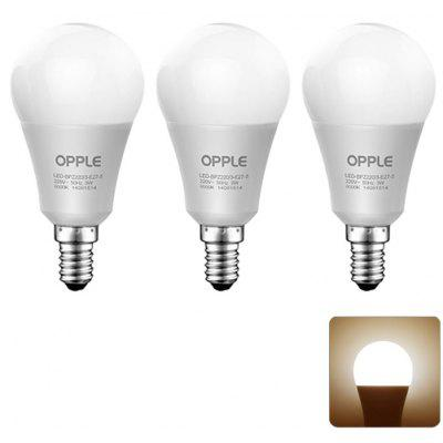 3 x OPPLE 4W E14 330LM 3000K Ampoule LED