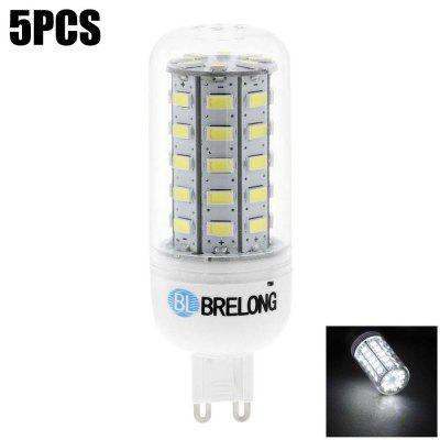 5PCS BRELONG 10W G9 SMD 5730 800Lm LED Corn Bulb