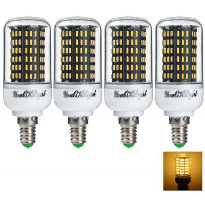 Buy YouOKLight SMD 4014 1300Lm 15W E14 LED Corn Bulb Light WARM WHITE LIGHT 4PCS for $29.12 in GearBest store
