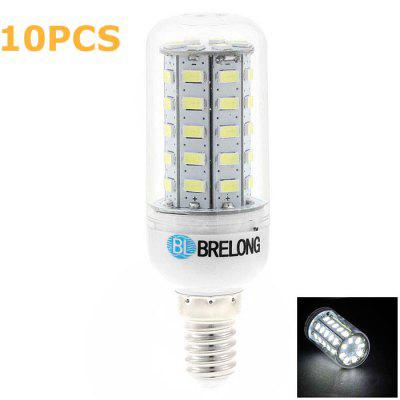 10 x BRELONG E14 7W SMD 5730 700Lm LED Corn Lamp