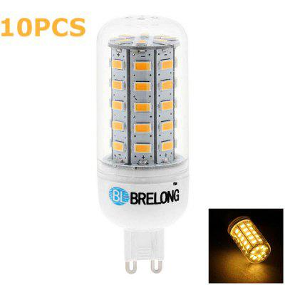 10 x BRELONG G9 7W SMD 5730 700Lm LED Corn Lamp