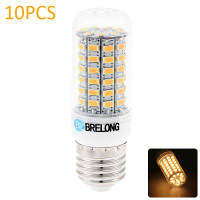 10PCS BRELONG 12W E27 1200Lm SMD 5730 LED Corn Lamp