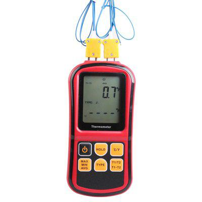 GM1312 Dual Channel Thermocouple Thermometer