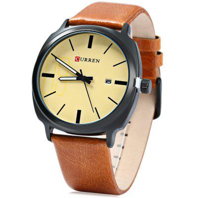 Curren 8212 Date Display Men Quartz Watch