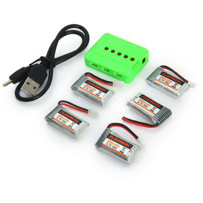 Spare KH101 - 011 3.7V 30C 260mAh Battery Set Fitting for Floureon H101 RC Quadcopter