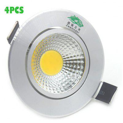 4 x Zweihnder 300Lm 3W COB LED Ceiling Light