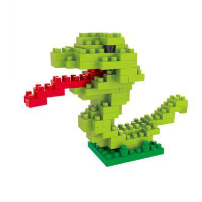 WLtoys 90 Pcs Snake Building Block 6607 IQ Training