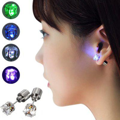 Bling Bling Acrylic LED Earring Studs
