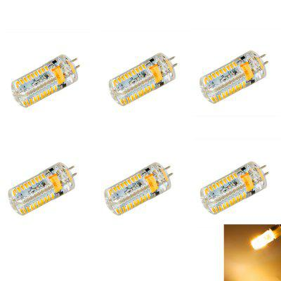 6pcs 7W G4 SMD 3014 630Lm Dimming LED Corn Light