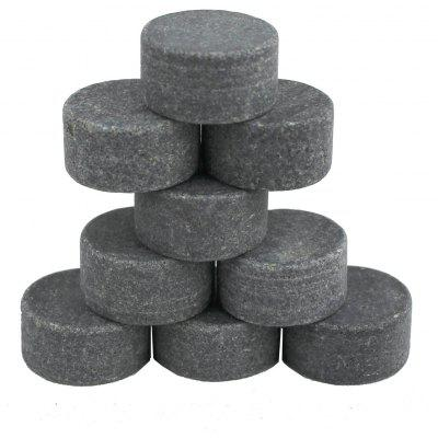 9Pcs Round Whiskey Stones Rocks Ice Cubes