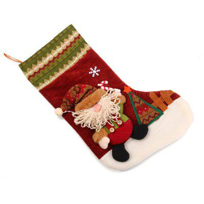 Hanging Stockings Santa Claus Pattern for Christmas