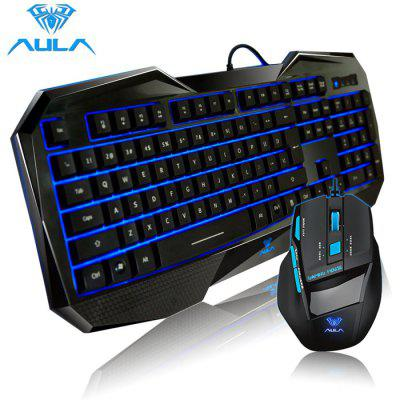 AULA Killing Soul USB Wired Gaming Keyboard / Mouse Kit