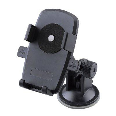 Windshield Dashboard Car Holder Phone Stand with Sucker Easy InstallationChargers &amp; Cables<br>Windshield Dashboard Car Holder Phone Stand with Sucker Easy Installation<br><br>Color: Black<br>Features: Rotatable, Adjustable Stand<br>Mainly Compatible with: SAMSUNG, iPhone 6S, iPhone 4/4S, iPhone 5C, Samsung S6 Edge Plus, Moto, iPhone 6 Plus, iPhone 6, iPhone 5/5S, Xperia Z3, Blackberry, HTC, Mate 7, Galaxy Note 4, Samsung Note 5, Universal, Samsung S6<br>Material: ABS<br>Package Contents: 1 x Mount Holder<br>Package size (L x W x H): 14.5 x 8.8 x 8.5 cm / 5.70 x 3.46 x 3.34 inches<br>Package weight: 0.197 kg<br>Product size (L x W x H): 12 x 11.5 x 7.5 cm / 4.72 x 4.52 x 2.95 inches<br>Product weight: 0.137 kg<br>Type: Sucker Stand, Mobile Holder, Mount Holder, In-Car, Stand, Car Stand