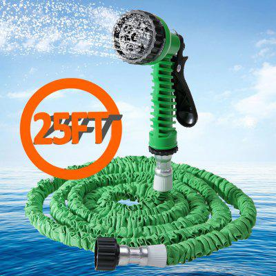 25 ft garden hose. 25FT Expandable Garden Water Hose Pipe With 7 In 1 Spray Gun 25 Ft X