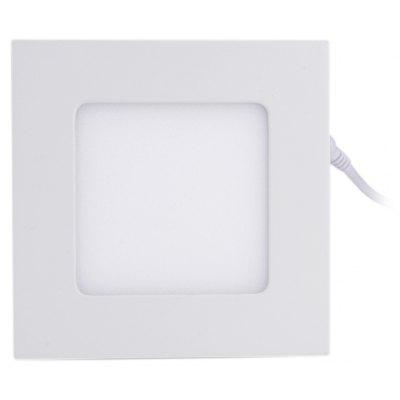 6W 480Lm 30 x SMD 2835 LED Panel Light - Square