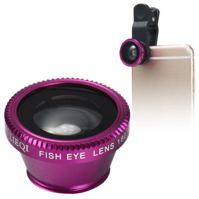 LIEQI LQ - 180 180 Degree Clip-on Fisheye Lens