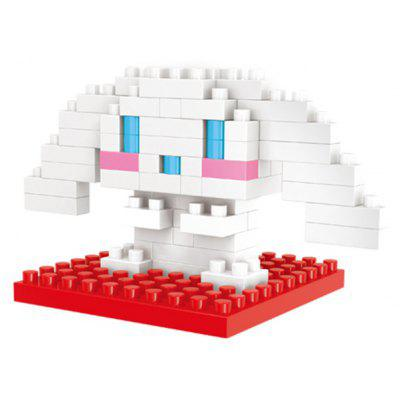 WLtoys 70 Pcs Cinnamoroll Building Block 6634 IQ Training