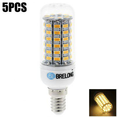 5 x BRELONG E14 SMD 5730 1200LM 15W LED Corn Bulb