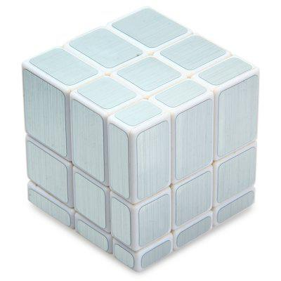 Nieregularne Magic Cube 58MM 3 x 3 x 3 IQ Puzzle Game Toy Solid Color