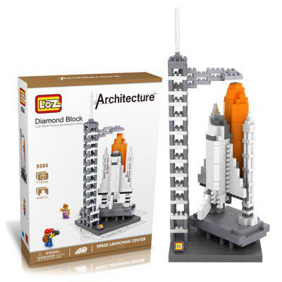710Pcs 9384 Space Shuttle Building Block Educational Toy for Cooperative Ability - World Great Architecture Series