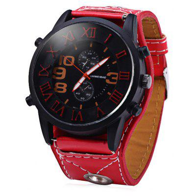 Shiweibao 9527 Stereo Scale Male Quartz Watch