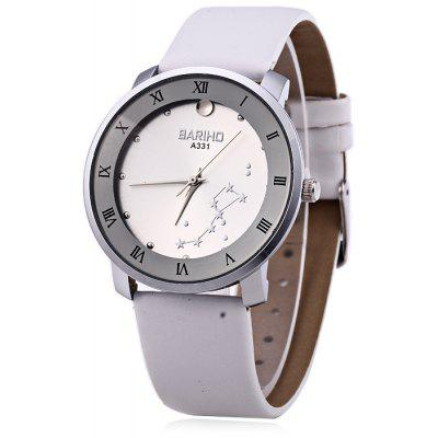 BARIHO A331 Big Dipper Pattern Women Quartz Watch