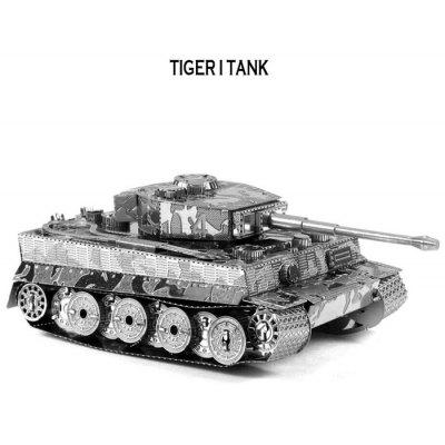 Tank 3D Jigsaw Laser Cutting Modelo Puzzle Educational DIY Toy para Crianças