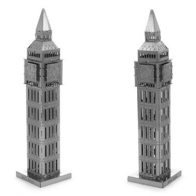Big Ben 3D Jigsaw Laser Cutting Model Puzzle Educational DIY Toy for Children