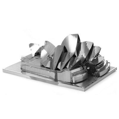 Sydney Opera House 3D Jigsaw Laser Cutting Model Puzzle Educational DIY Toy for Children
