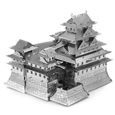Castle 3D Jigsaw Laser Cutting Model Puzzle Educational DIY Toy for Children