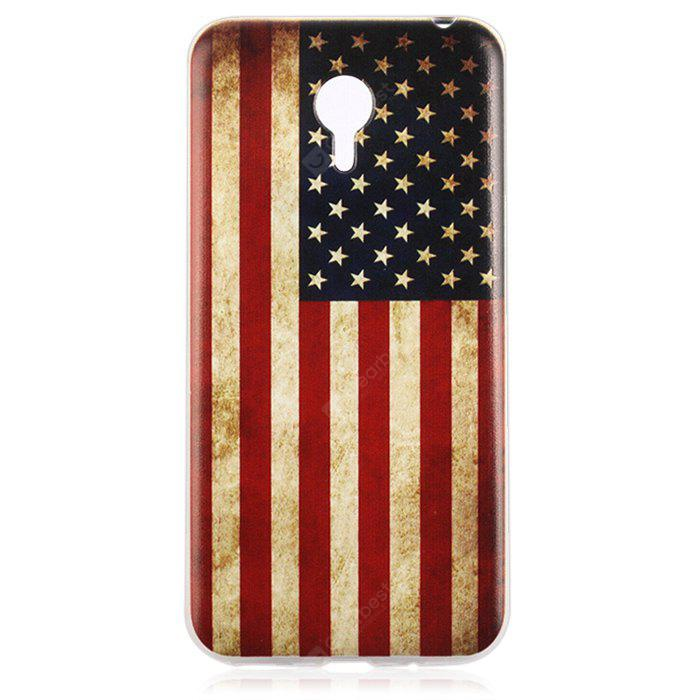 Buy Design Soft Material Back Protective Cover Case MEIZU M2 NOTE US FLAG