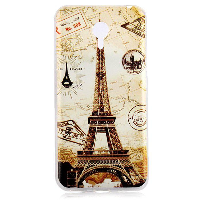 Design Soft Material Back Protective Cover Case MEIZU M2 NOTE EIFFEL TOWER
