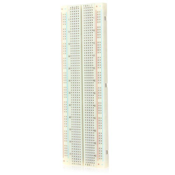 830 Hole Breadboard with 65 Colorful Bread Line for Arduino DIY