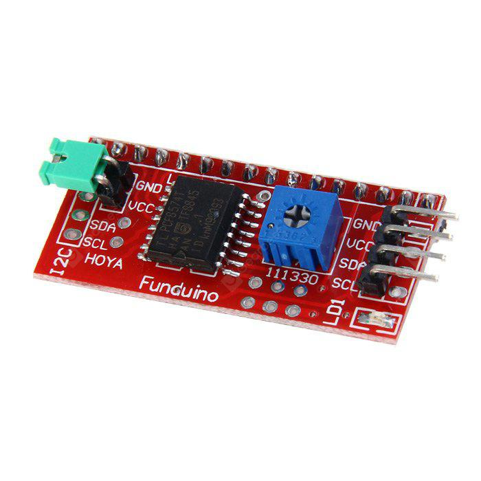 IIC / I2C Interface Pinboard for Arduino LCD1602