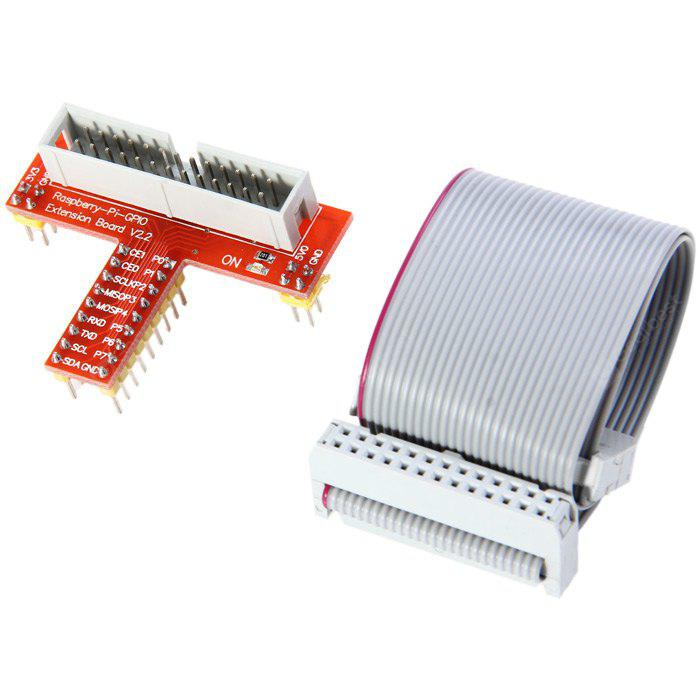 GPIO Pinboard and Expansion Cable Kit for Raspberry Pi