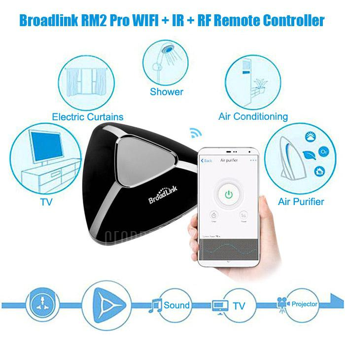 Gearbest Broadlink RM pro WIFI + IR + RF