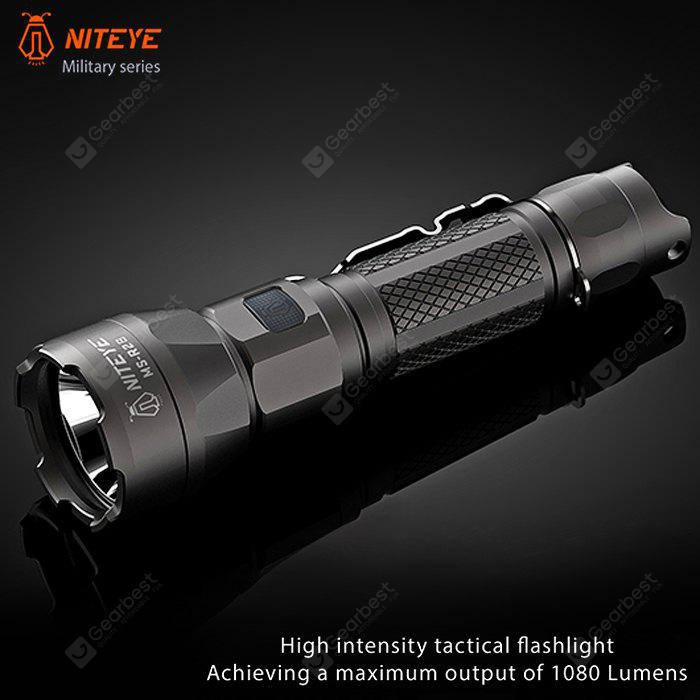 NITEYE MS - R28 Cree XPL LED 1080LM Rechargeable Flashlight