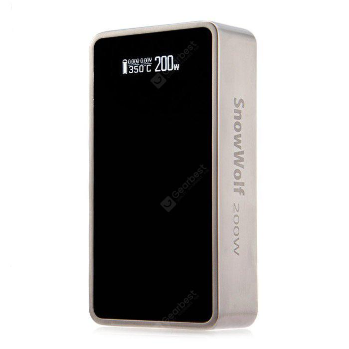 SnowWolf 200W 1.5 Version 200W Temperature Control Box Mod