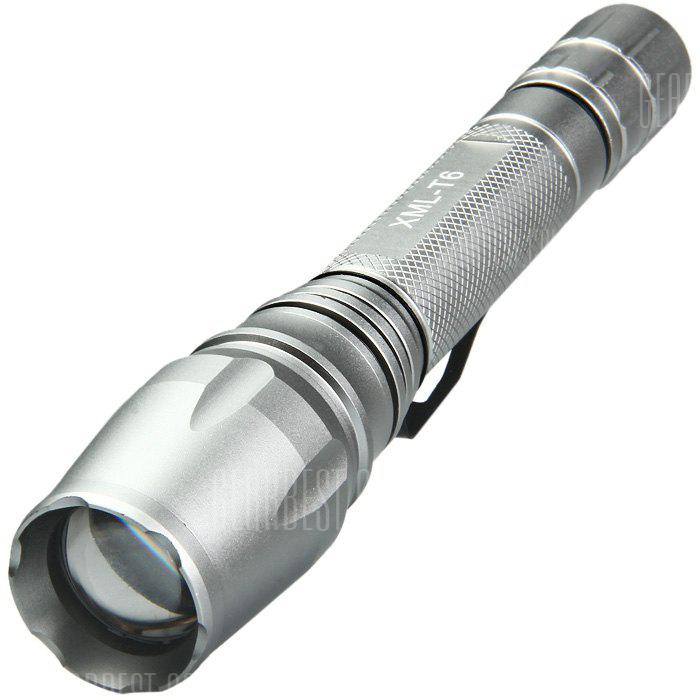 DECAKER T6 CREE XML T6 800LM Zooming lanterna LED