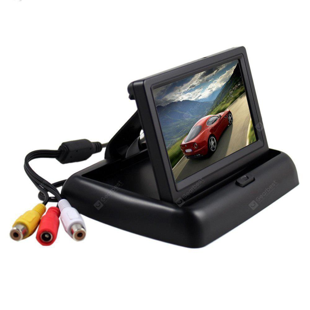 Image result for Foldable 4.3 Inch Car Reversing Digital LCD Display