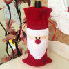 Buy Red Wine Bottle Cover Bags Christmas Ornament RED